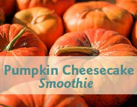 Jaw Pain Friendly Pumpkin Cheesecake Smoothie Recipe