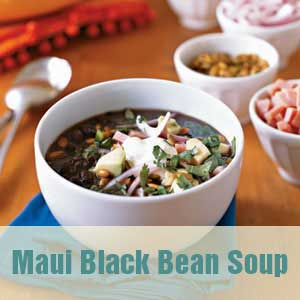 no chew recipe black bean soup