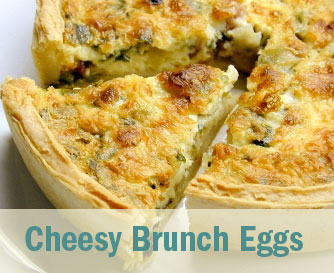 Cheesy Brunch Eggs No Chew TMJ Friendly Recipe