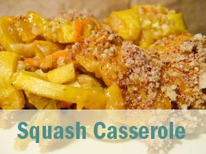 TMJD Soft Recipes Squash Casserole