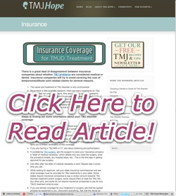 TMJD Insurance
