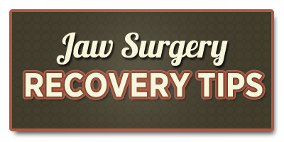 TMJ surgery recovery tips